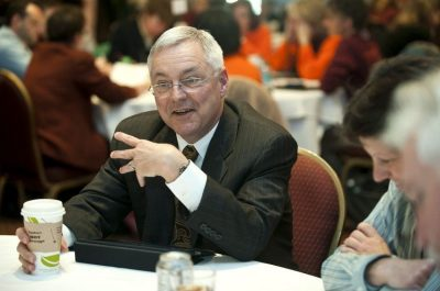 Jack Finney at the 2012 Advancing Diversity Workshop