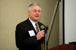 Vice Provost Jack Finney at 2014 Advancing Diversity workshop