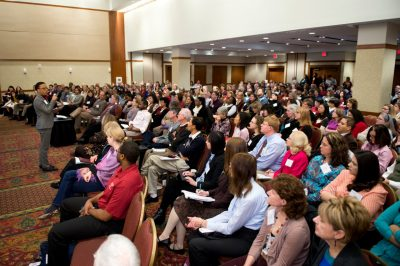Keynote audience at the 2014 Advancing Diversity Workshop
