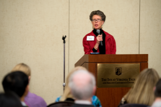 Assistant provost Peggy Layne at 2014 Advancing Diversity workshop
