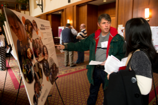 Poster display at 2014 Advancing Diversity workshop