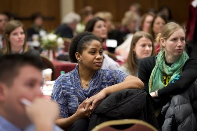 Audience at the 2015 Advancing Diversity Workshop.