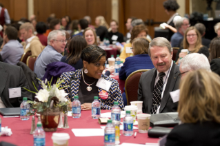 Image of the audience at the 2015 Advancing Diversity Workshop.