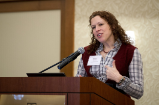 Image of Kimberly Carlson, Business Diversity Center Lightning Talk at the 2015 Advancing Diversity Workshop