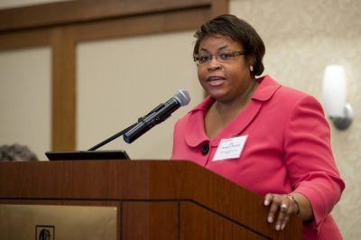 Image of Jody Thompson-Marshall, Multicultural Academic Opportunities Program Lightning Talk at the 2015 Advancing Diversity Workshop